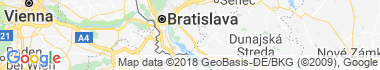 Dunajská Lužná Térkép