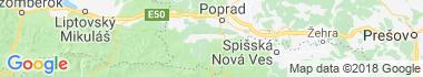 Spišské Bystré Mapa