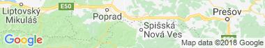 Arnutovce Mapa