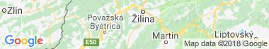 Lietavská Svinná - Babkov Mapa