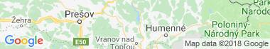 Kvakovce Mapa