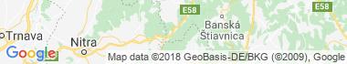 Bresnitz an der Gran Karte