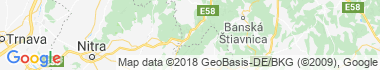 Tekovská Breznica Mapa