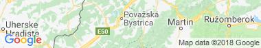Prečín Mapa