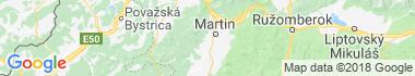 Bystrička Mapa