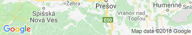 Malá Lodina Mapa