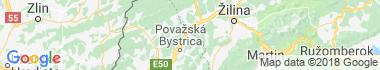Plevník-Drienové Mapa
