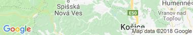 Helcmanovce Mapa