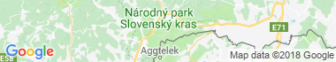 Slovenský kras Mapa
