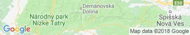 Čertovica Mapa