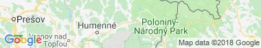 Sninské Rybníky Mapa