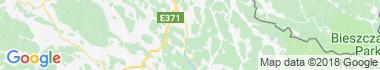 Ondavská vrchovina Mapa