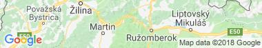 Ľubochnianska dolina Mapa