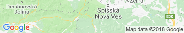 Palcmanská Maša Mapa