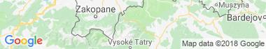 Belianské Tatry Mapa