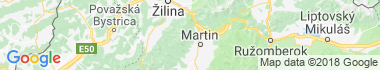 Martinské Hole Mapa