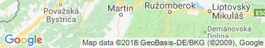 Jasenská dolina Mapa