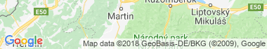 Belianska dolina Karte
