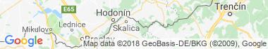Zlatnícka dolina Mapa