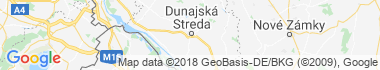 Termálne kúpalisko Dunajská Streda Mapa