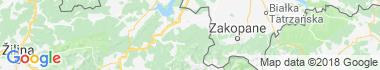 Skorusina Mountains Map