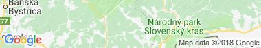 Revúcka vrchovina Mapa