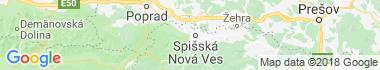 Spiš Mapa