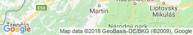 Turiec Mapa