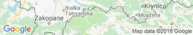Pieniny Mapa