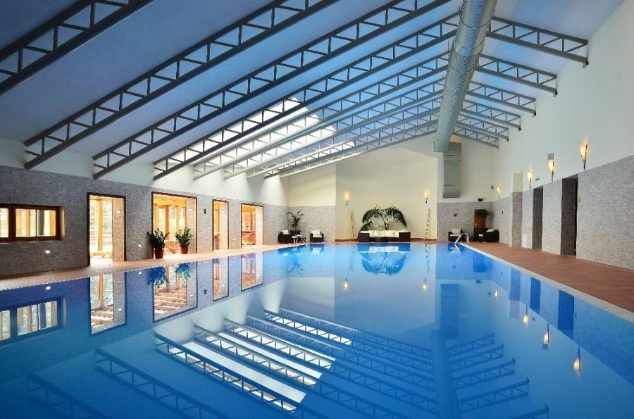 Ski & Wellness Hotel družba - bazén