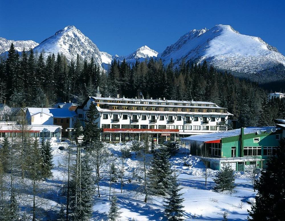 Hotel Toliar Štrbské pleso - zima