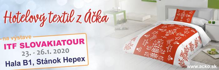 ITL Slovakiatour 2020 - Hotelový textil Áčko