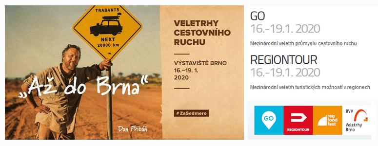 Go Regiontour Brno 2020