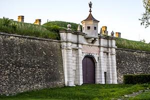 Pevnost Komárno (vchod)