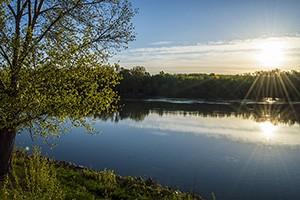 Komárom Duna - Vág összefolyása