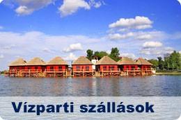 Vízparti szállások Szlovákiában