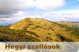 Hegyi szállások Szlovákiában