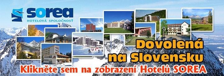 Sorea - Dovolená na Slovensku