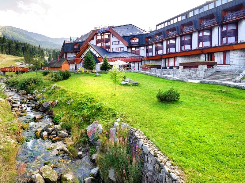 hotel v Demänovskej doline