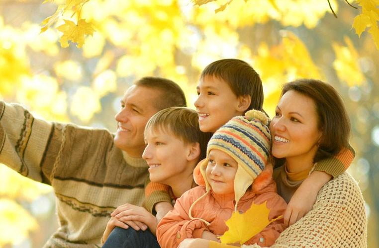 Jesenný wellness RELAX s rodinou #1