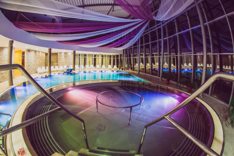 Superrelax during the week in Aquatermal with full board (swimming pools + sauna world) #1
