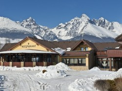 Winter getaway in High Tatras with swimming pool and sauna Nová Lesná