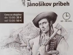 Escape room Jánošíkov príbeh Terchová