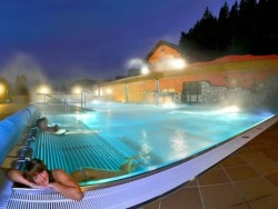 Aqua Vital getaway with pool, sauna and treatments Lúčky