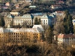 Budovy Baníckej a lesníckej akadémie Banská Štiavnica