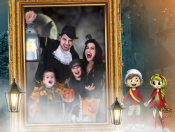 Halloween in the High Tatras with the Addams family Nový Smokovec