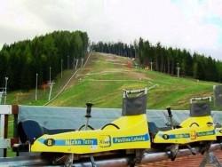 ŽIARCE Letni tor bobslejowy