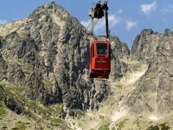 Kabínková lanovka na Lomnický štít Tatranská Lomnica