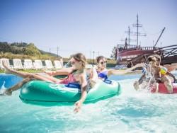Letní pobyt ve Vodním parku Bešeňová v novém ubytovacím komplexu Akvamarín  Bešeňová
