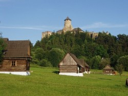 Ľubovniansky hrad Stará Ľubovňa